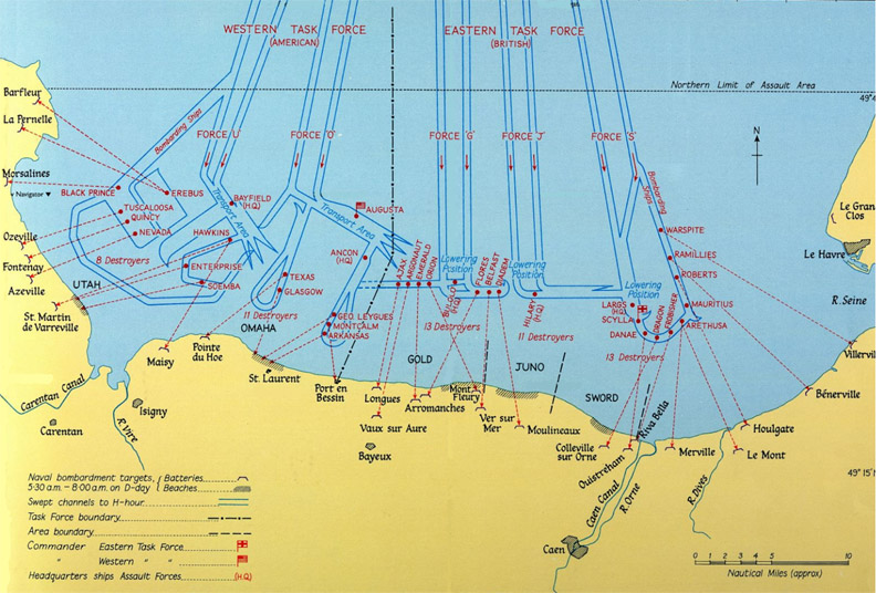 D Day Invasion Map  more maps below